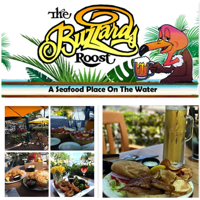 The Buzzards Roost Waterfront Restaurant Key Largo Florida